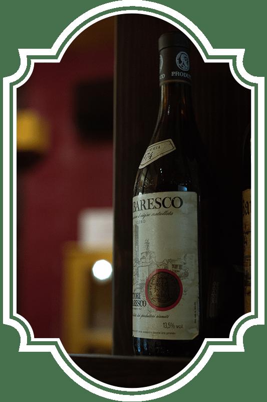 ristoranti bove's vini bottiglia
