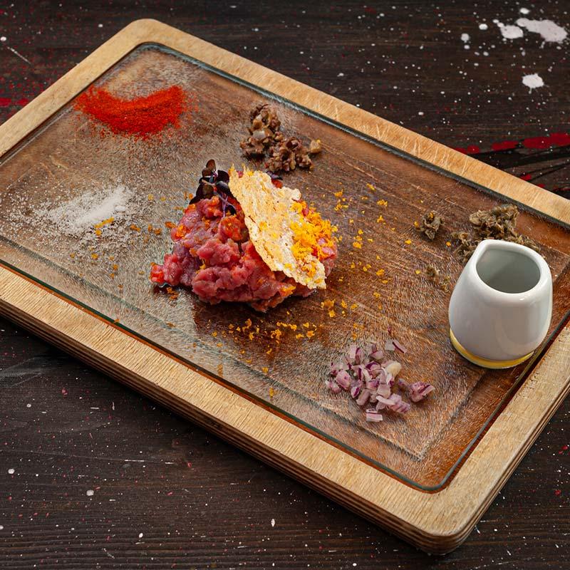 ristoranti bove's tagliere carne cruda